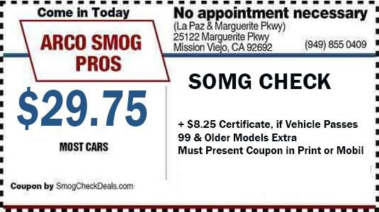 Dmv Smog Check >> Smog Check Pros Arco 29 75 Smog Check Mission Viejo